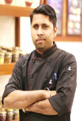 Having experience of more than 16 years as an F&B Head including working with International Chefs across the world.  Very much involved in providing resources for centralized kitchen of International Standards and setting up of menu, Kitchen Training, Food Cost Control etc., He is Awarded with Gold Medal for the best live display in AAHAR 2010.  He was one of the Jury members in PANEL-2019 with Tourism & Hospitality Skills Council of India.