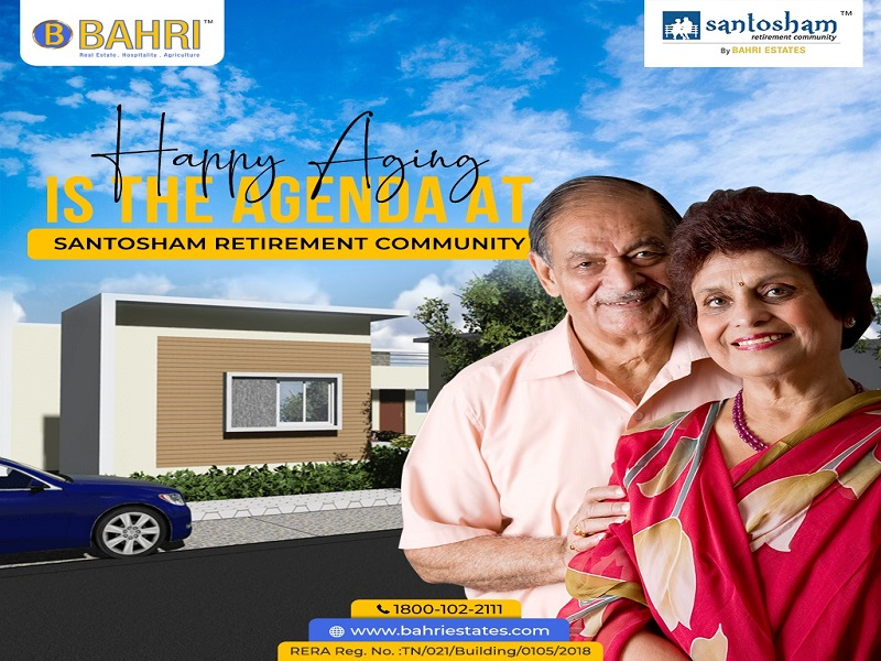 Where are Bahri Estates Senior Retirement Homes in Bangalore?